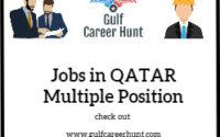 Jobs in Qatar Multiple position 11x