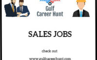 Sales Executive Commission Vacancy
