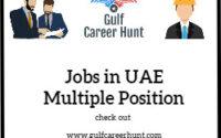 Jobs in UAE 4x Vacancies