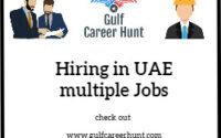 Hiring in Abu Dhabi 4x jobs