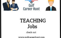 Teaching Staff Required